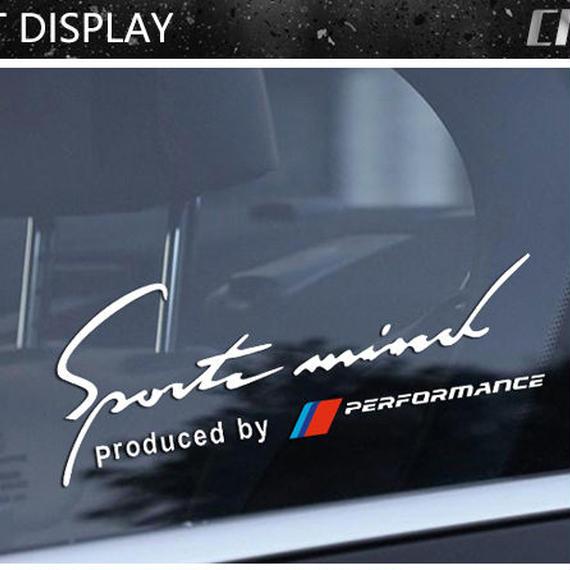 BMW ステッカー カースタイリング サイドウィンドウ 窓ガラス デカール e46 e39 e90 f30 f10 e53 e36 e34 x5 e53 x6 h00037