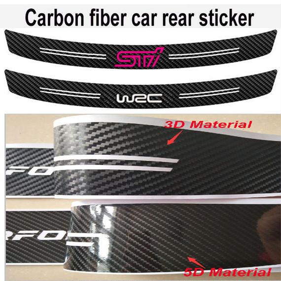 スバル  ステッカー STI WRC リア バンパー ロゴ SUBARU BRZ XV LEGACY h00564