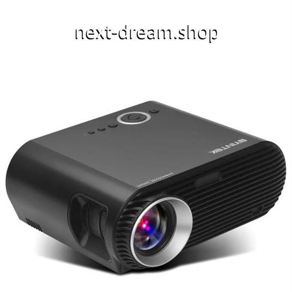 新品送料込   プロジェクター ホームシアター用  1280x800 映画 シネマ ゲーム USB HDMIフルHD ビデオLED 1080P パーティー  m00515