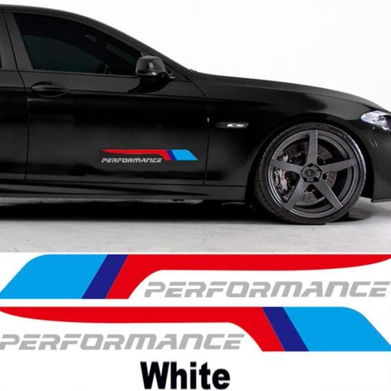 BMW ステッカー 2個入 E36  E39 E46 E53 E60 E61 E64 E70 E71 E85 E87 E90 E83 F10 F20 F21 F30 F30 F35 h00211