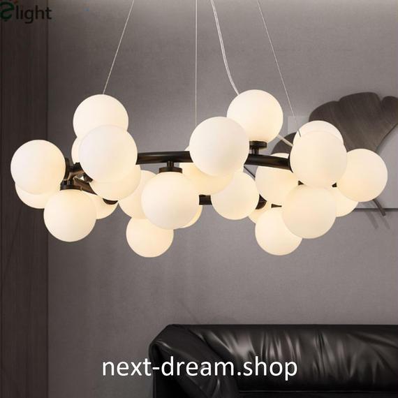 照明器具 LED ペンダントライト 丸型ガラスボール ダイニング リビング キッチン 寝室 北欧モダン h01616