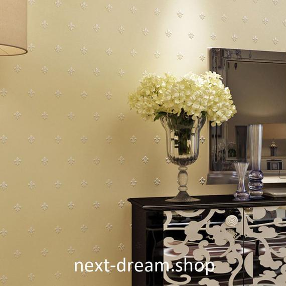3D 壁紙 53×1000㎝ 花柄 ダマスク DIY 不織布 カビ対策 防湿 防水 吸音 インテリア 寝室 リビング h02088