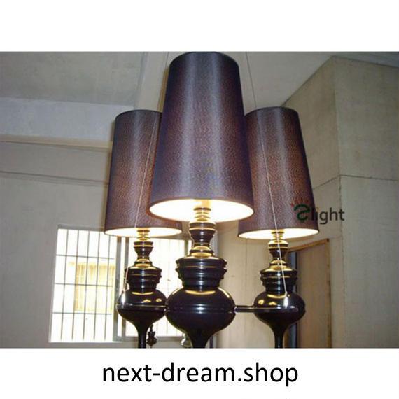 ペンダントライト 照明 LED 筒型 電球×3 ダイニング リビング キッチン 寝室 アンティーク 伝統的 北欧デザイン h01510