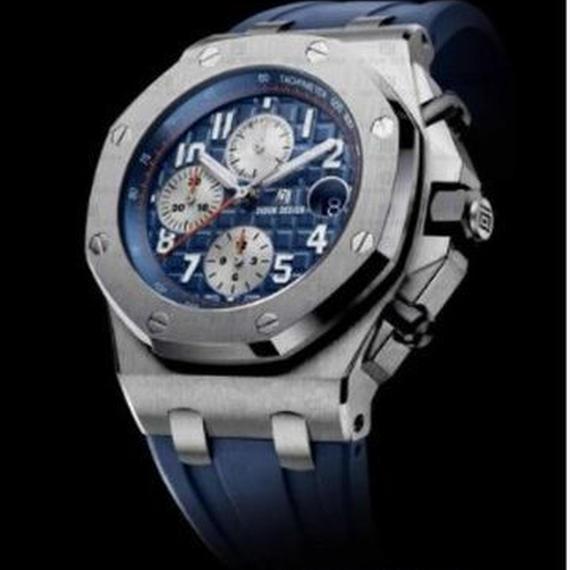 Didun 高級腕時計 クロノグラフ クォーツ 耐衝撃 30メートル防水 高級シリコンラバー SBL 00122