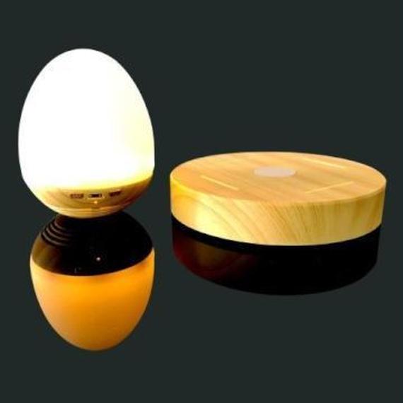 磁気浮上式ワイヤレスBluetoothスピーカー ランプ ギフト 00335