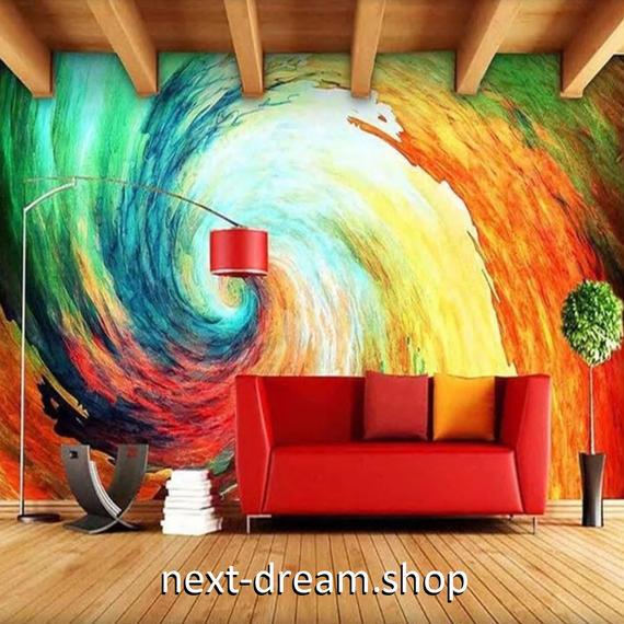 3D 壁紙 1ピース 1㎡ 芸術 ヨーロッパアート 絵画 DIY リフォーム インテリア 部屋 寝室 防湿 防音 h03272