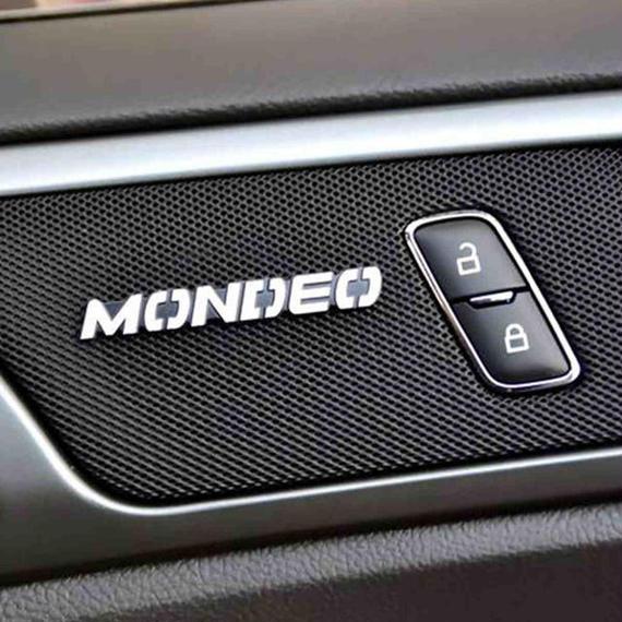 車 ステッカー カーオーディオ 4個入 ford mondeo h00464