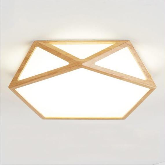 木製 LEDシーリングライト 8~12㎡ 調光 リモコン付き ★ 天井照明 ナチュラルモダン インテリア照明 和風 和室 ダイニング m00018