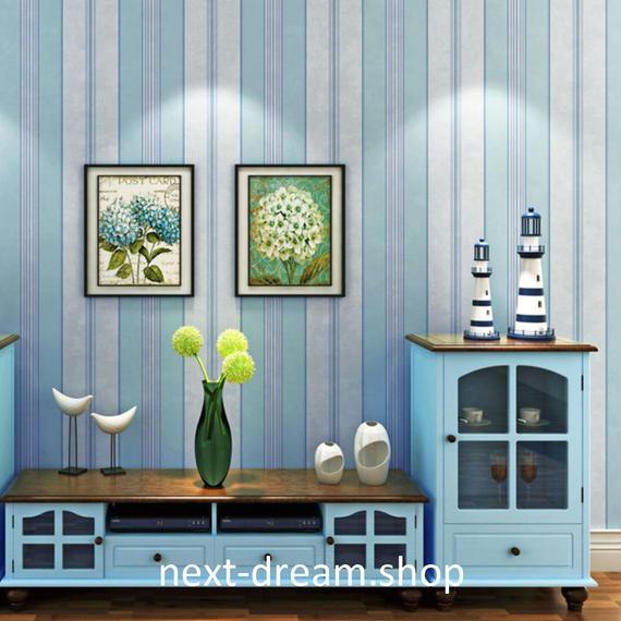 3D 壁紙 53×1000㎝ モダン ストライプ DIY 不織布 カビ対策 防湿 防水 吸音 インテリア 寝室 リビング h02025