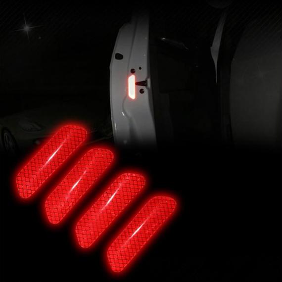 反射ステッカー 警告 ドア マーク デカール 安全装飾用 車 BMW フォード ベンツ アウディ h00122