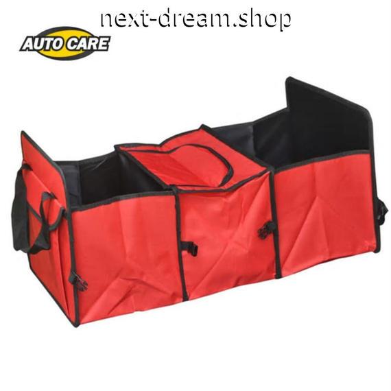収納バッグ 車用品 トランク 自動車工具バッグ 赤 青 ストレージボックス   新品送料込 m00476