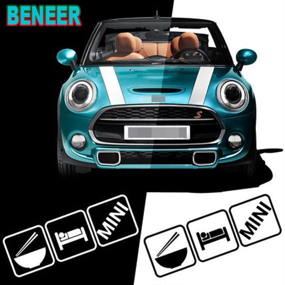 ミニクーパー ステッカー BMW MINI COOPER ウィンドウ 窓 h00450