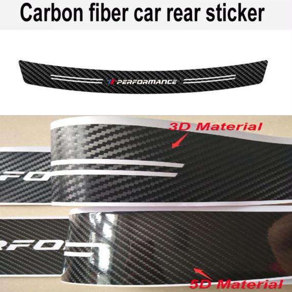 BMW ステッカー 炭素繊維 Mパフォーマンス バンパー E36 E39 E46 E53 E60 E61 E64 E70 E71 E85 E87 E90 E83 F10 20 21 30 h00206
