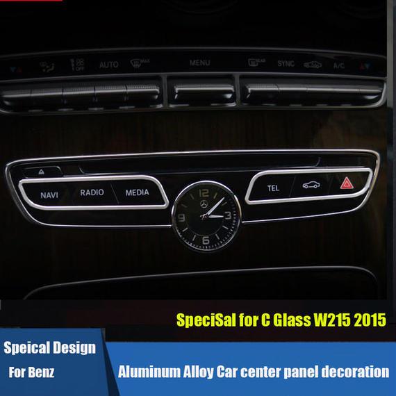 ベンツ カーインテリア 内装 センターパネル カバー Mercedes-Benz C180L C200L C260L C300L 2015 h00541