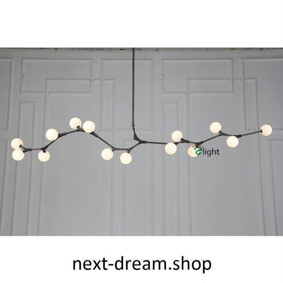 ペンダントライト 照明×5 LED 丸型 蔓デザイン ダイニング リビング キッチン 寝室 北欧モダン Lindsey  h01619