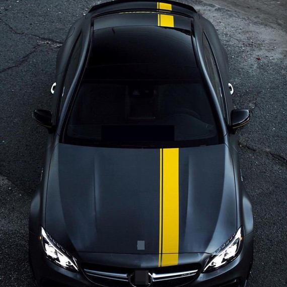 ベンツ ステッカー ボディ ボンネット Mercedes benz h00523