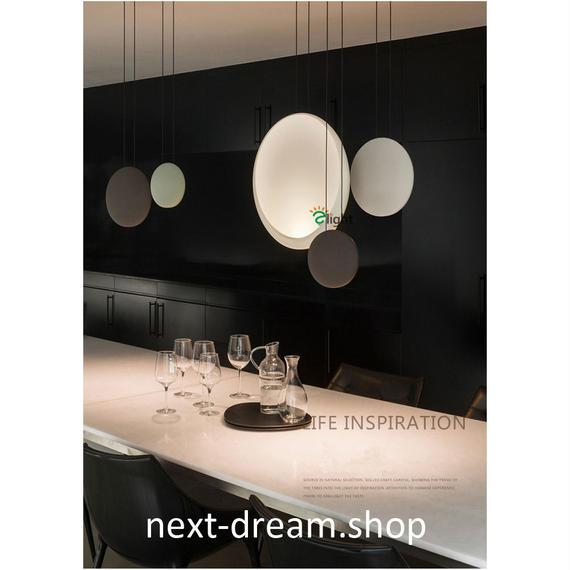 ペンダントライト 照明 LED 丸型 19cm Sサイズ ダイニング リビング キッチン 寝室 部屋 北欧モダン h01536