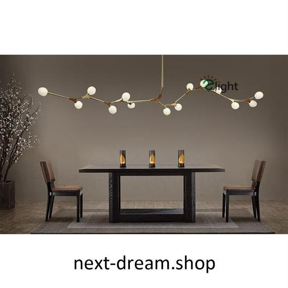 ペンダントライト 照明×3 LED 金色 丸型 蔓デザイン ダイニング リビング キッチン 寝室 北欧モダン Lindsey  h01626