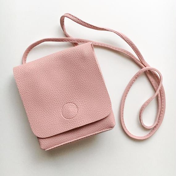 leather chick shoulder bag