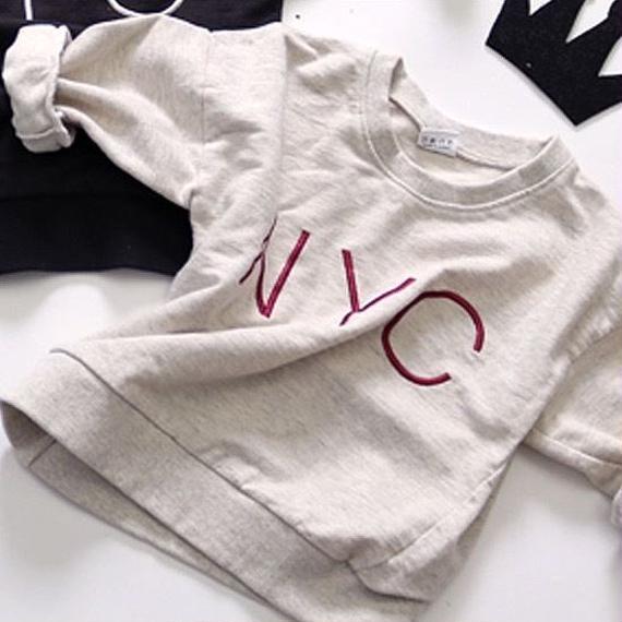 NYC sweatshirt / gray