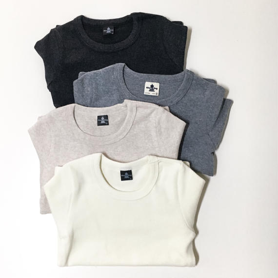 round color long t-shirt