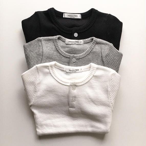 rib long t-shirts
