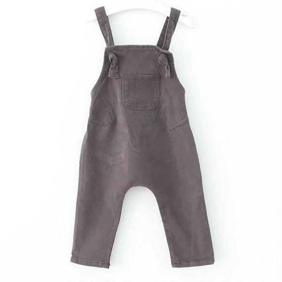 cotton salopette pants