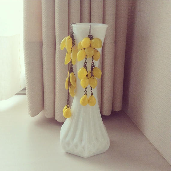 レモンジュースロングピアス