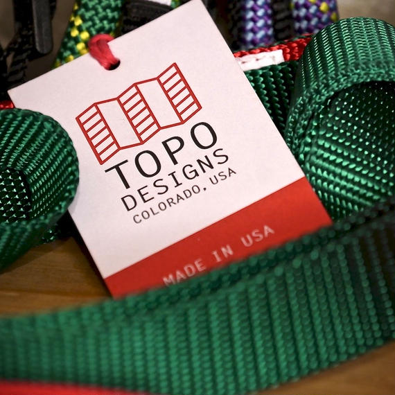 TOPO DESIGNS DOG  LEASH