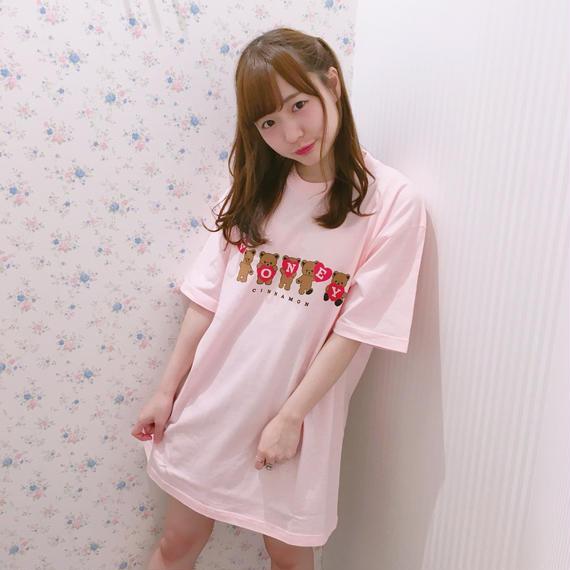 182CS75【unisex】HONEY5シナモンTシャツ