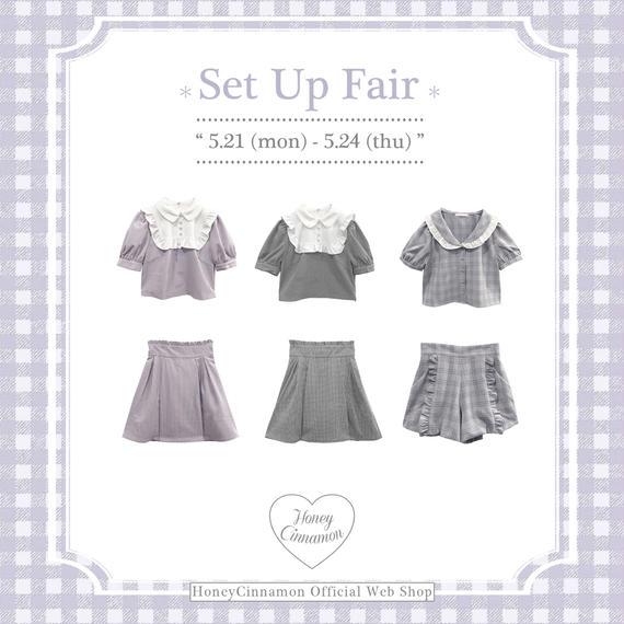 Set Up Fair♡