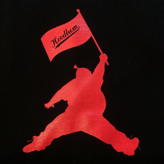 FLAG SWEAT PARKA [BLACK]