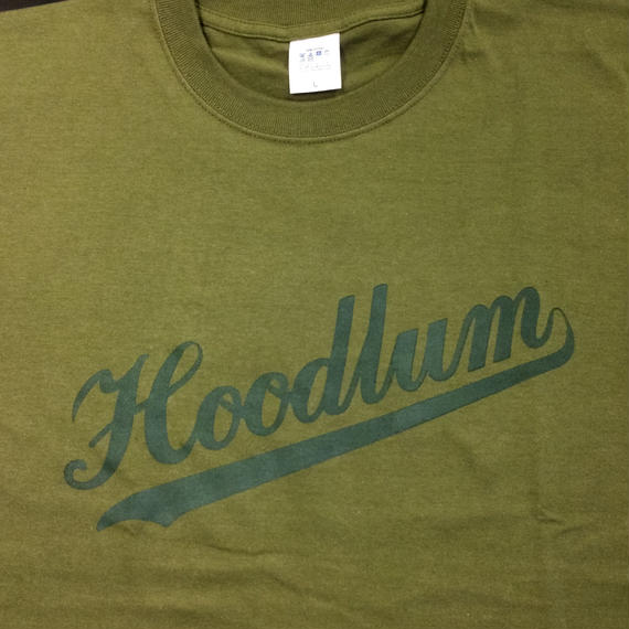 Hoodlum LOGO T-SHIRTS [OIL]
