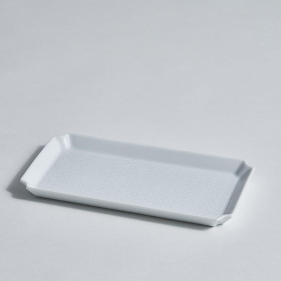 青海波角皿 中