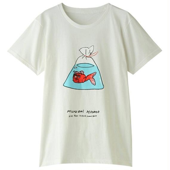 初夏Tシャツ(金魚・ホワイト)