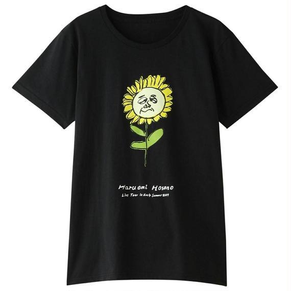 初夏Tシャツ(ひまわり・ブラック)