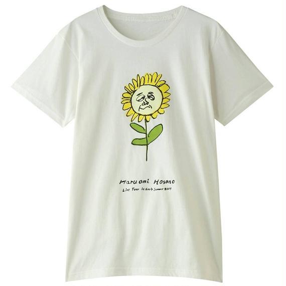 初夏Tシャツ(ひまわり・ホワイト)