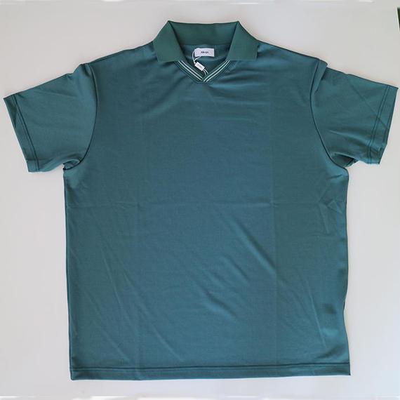ALLEGE   V neck line t-shirt      GREEN