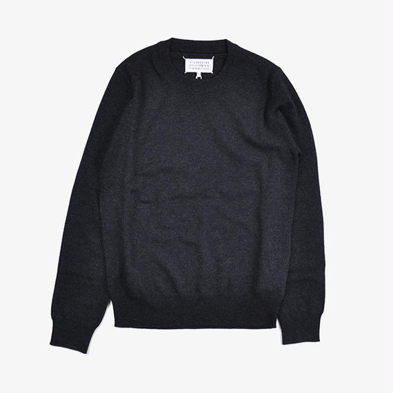Maison Margiela | ELBOW PATCH SWEATER | Charcoal