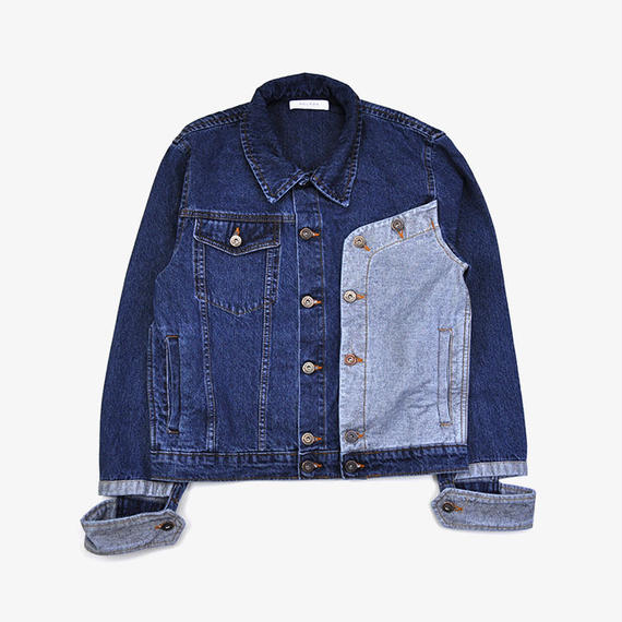 DELADA | DENIM JACKET  | DARK BLUE DENIM