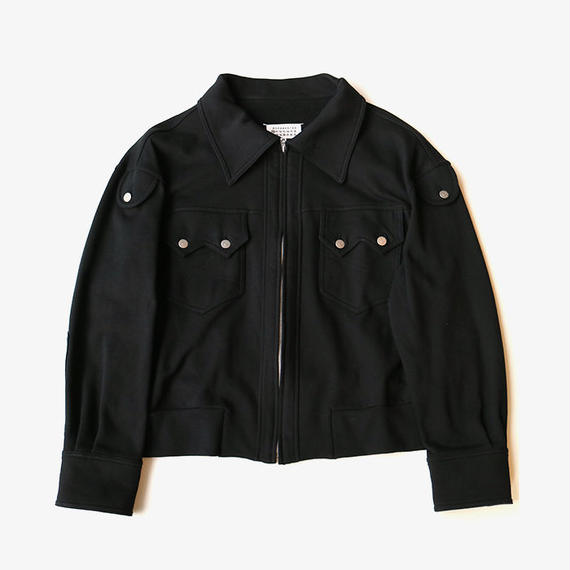 Maison Margiela | SWEAT JACKET | BLACK
