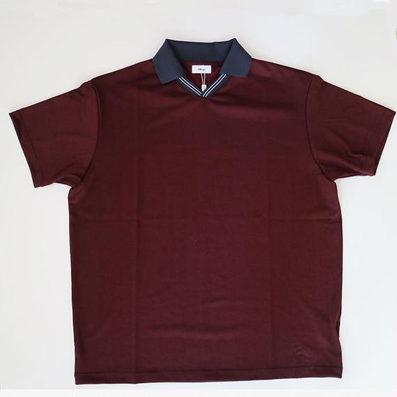 ALLEGE   V neck line t-shirt      WINE