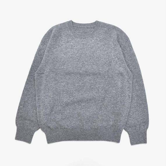 crepuscule | Wholegarment Crewneck P/O | Gray