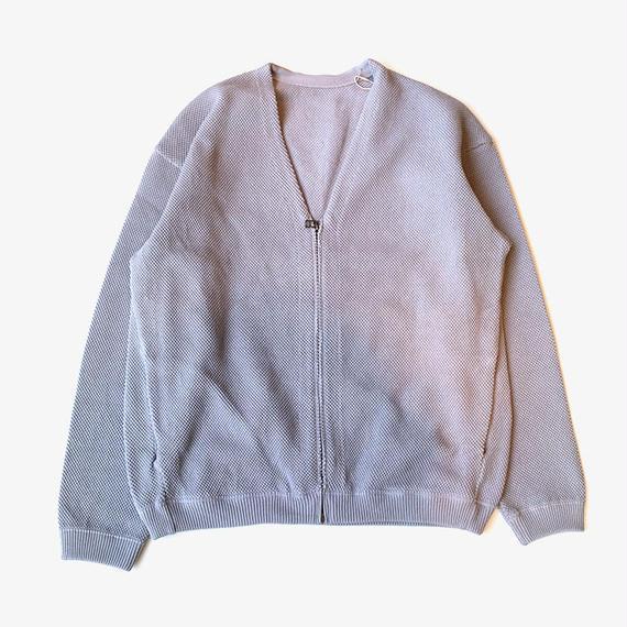 crepuscule | moss stitch cardigan  | L.Blue