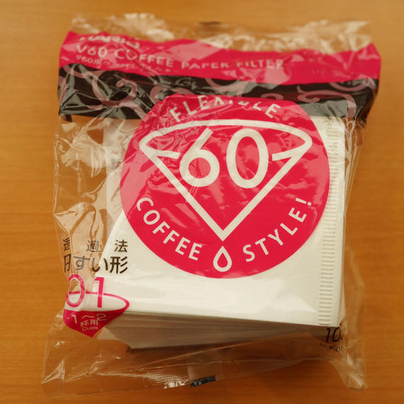 HARIO V60 COFFEE PAPER FILTER 01 ホワイト