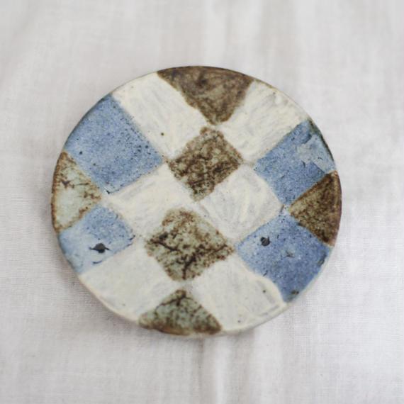 石川圭 豆皿 (益子焼)
