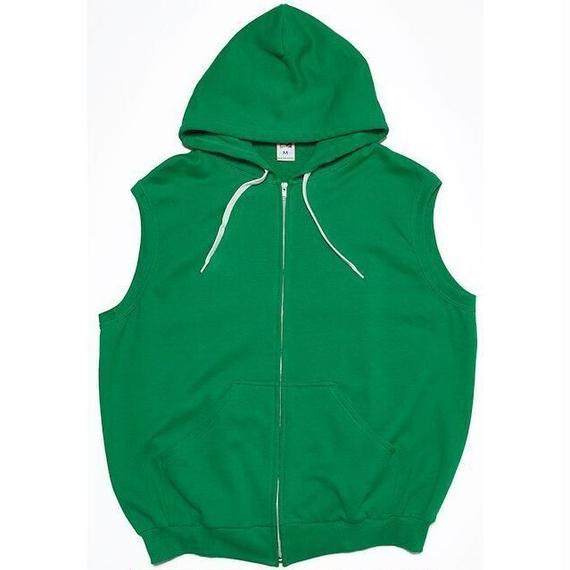 "VOTE MAKE NEW CLOTHES ""BIG VEST HOODIE"" (グリーン)"