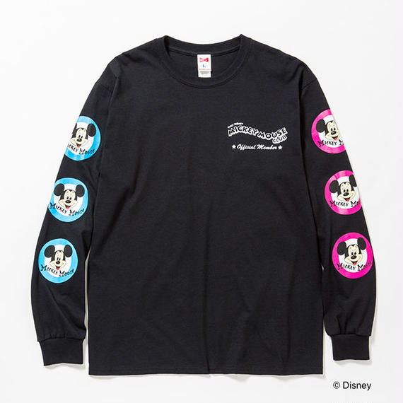 "VOTE MAKE NEW CLOTHES ""MICKEY MOUSE CLUB L/STEE""(ブラック)"