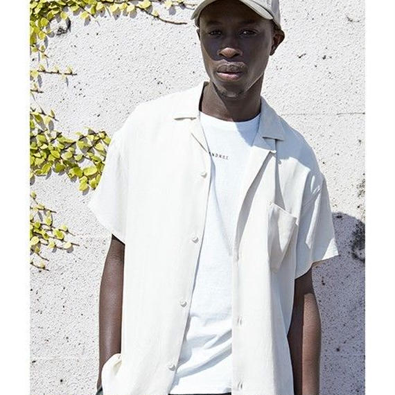 "Sandinista ""Open Collar Rayon Shirt"""