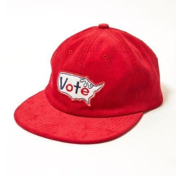 """VOTE MAKE NEW CLOTHES """"VOTE USA CAP"""" (レッド)"""